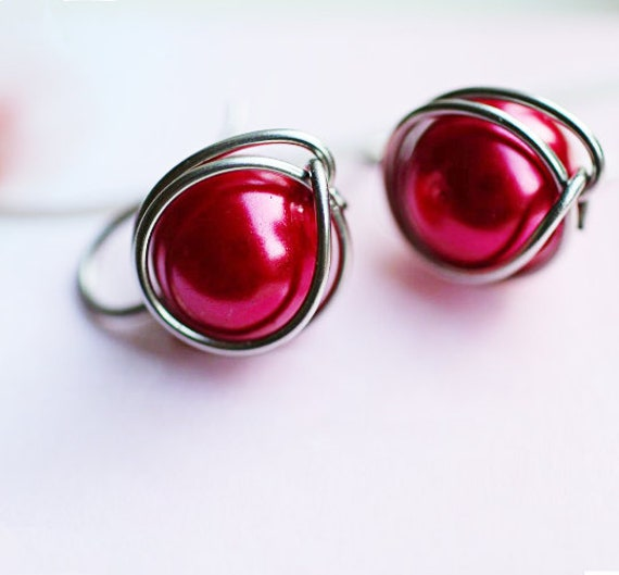 Wire wrap earring TUTORIAL by GunaDesign