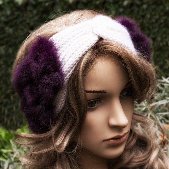 Knit headband ear warmer by GunaDesign
