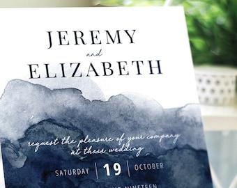 Watercolor Wedding Invitation Suite - PRINTABLE