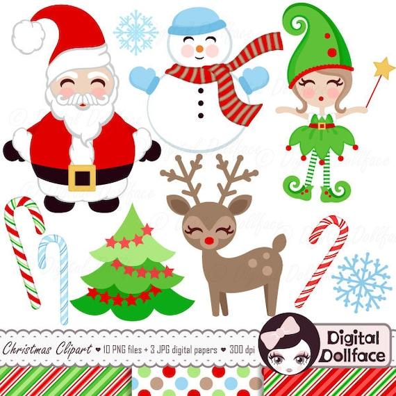 Christmas Clipart Santa.Christmas Clipart Paper Christmas Tree Clip Art Santa