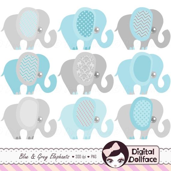 blue elephant baby shower invitation clipart baby boy clip rh etsy com Purple Baby Shower Template Baby Shower Background Clip Art