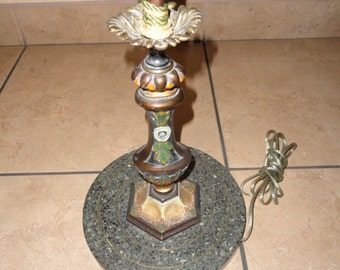 SALE Fabulous Art Deco 1940's Floor Lamp with Shade Make Offer