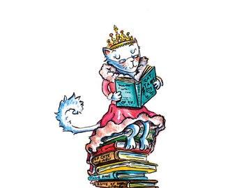 Book Queen Print
