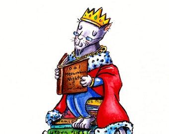 Book King Print