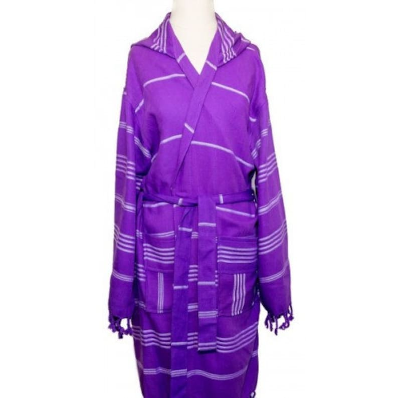 Peshtemal robe Bath   Beach robe Cover up Colored Striped  95845d90d