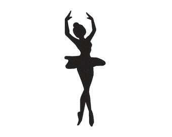 photo about Ballerina Silhouette Printable named Ballerina silhouette Etsy