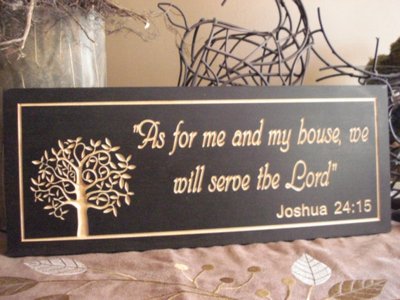 religious gifts wood sign family quotes carved wooden sign