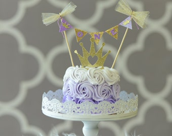 Princess Cake Topper, princess party, smash cake topper