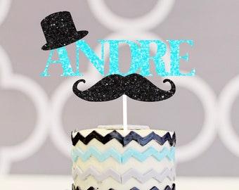 Mr. onederful cake topper, mustache cake topper, smashcake , mustache bash cake topper, gentleman cake topper, first birthday cake topper