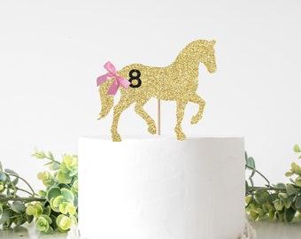 Horse Cake topper, Banner, Cake Banner, Horse party, Cake topper, smashcake topper, birthday cake topper, Horse birthday