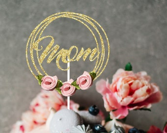 Mother's Day Cake Topper, Mom cake topper,Best mom ever cake topper, cake topper, Mother's day celebrtion, Mothersday cake topper