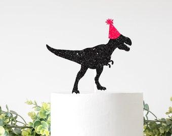 Dinosaur Cake Topper, Custom Dinosaur Cake Topper, T-rex Cake Topper, roar cake topper, dino party cake topper, birthday cake topper