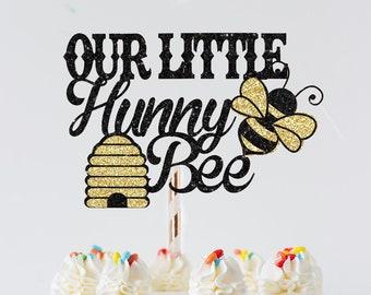 Bee Cake topper,Bee birthday cake topper, bee party, Happy bee day cake topper, Happy bee day, little hunny bee, smashcake topper