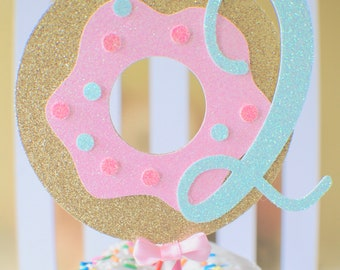Donut cake topper, Donut grow up cake topper, Donut smash cake topper, smasdcake topper, one cake topper,Donut party, donut first birthday