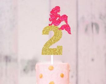 Mermaid Cake Topper, mermaid party, mermaid decoration, mermaid decor, mermaid party decor, cake topper, mermaid topper