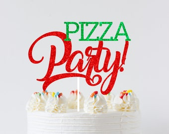 Pizza cake topper, pizza smashcake topper, pizza party, pizza, Italian cake topper, Italianparty, smashcake topper, birthday cake topper