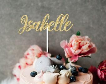 Name Cake Topper, cake topper, smashcake topper, birthday cake topper, cake topper for girl, first birthday cake topper, custom cake topper