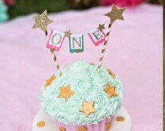 Twinkle Twinkle little Star Cake Topper, star cake topper, cake topper, smash cake topper, giant cupcake topper, smashcake topper