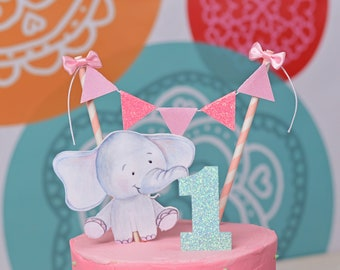 Elephant cake topper, baby shower cake topper, new baby cake topper, Baby elephant, Elephant party, Elephant baby shower