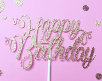 Happy Birthday Cake Topper, cake topper, happy birthday, birthday cake topper