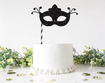 Mardi Gras cake topper, Mask cake topper, Mardi Gras, Masquerade mask cake topper, masquerade party, mask cake topper