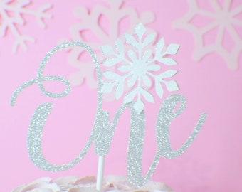 snowflake cake topper, One cake topper, Winter Wonderland cake topper,cake topper, winter wonderland party, winter onderland cake topper
