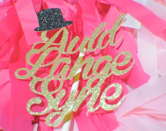 Auld Lange Syne cake topper, New year Cake topper, 2019 cake topper, new years party, new years cake, happy new year cake topper