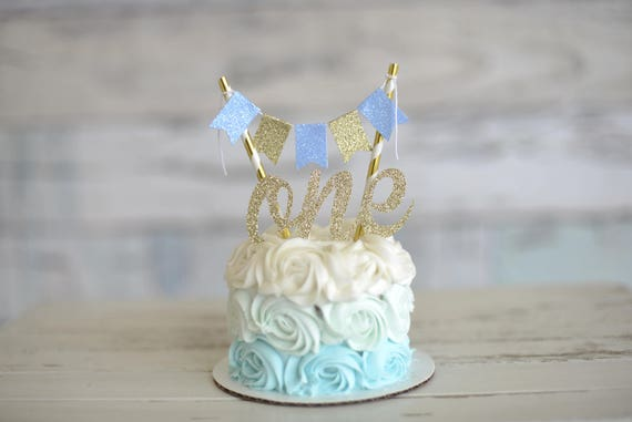 Brilliant One Cake Topper First Birthday Cake Topper Smashcake Topper Personalised Birthday Cards Veneteletsinfo