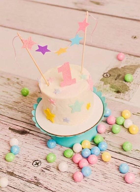 twinkle twinkle little star cake topper