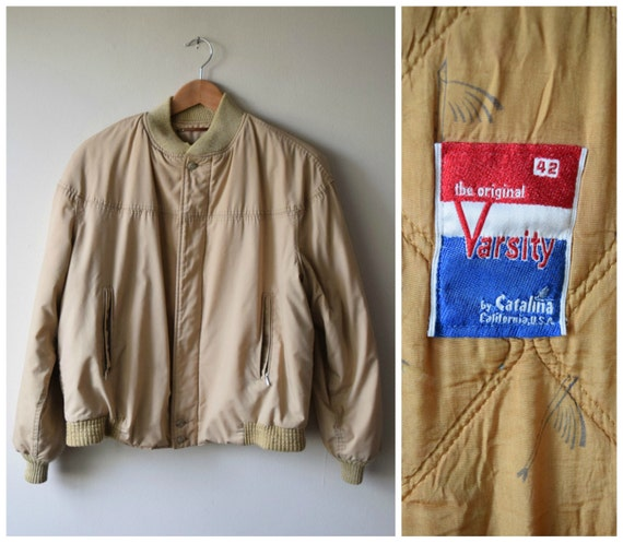 Vintage The Original Varsity Bomber by Catalina