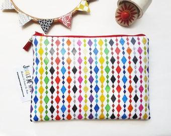 e593016155 Harlequin oilcloth Bag