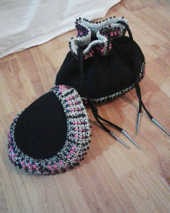 Sale Really special 1950s hat and matching bag wit