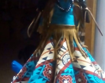 Indian Vinage Doll. I call her Morning Star