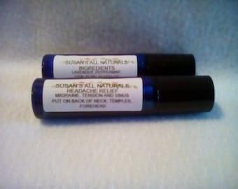 Headache Relief All Natural Essential oils