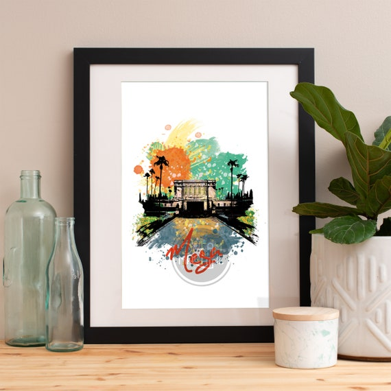 Mesa Print, Mesa Skyline, Mesa Art, Mesa Poster, Mesa Watercolor, Mesa Art Print, Mesa Map, Mesa Wall Art, Mesa Arizona