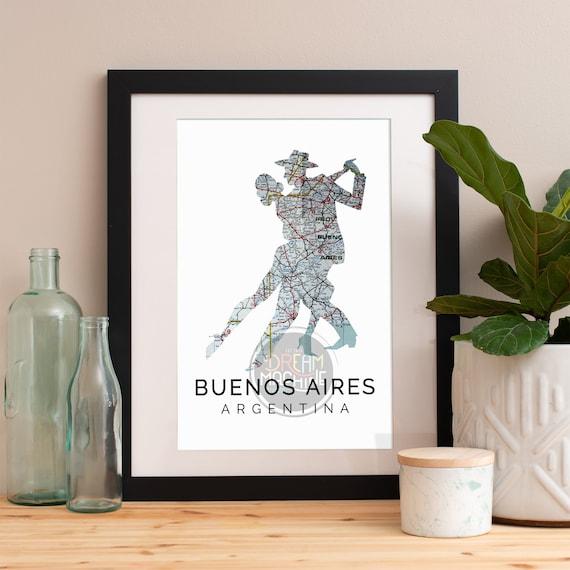 Buenos Aires Print, Buenos Aires Skyline, Buenos Aires Art, Buenos Aires Poster, Buenos Aires Watercolor, Buenos Aires Art Print, Argentina