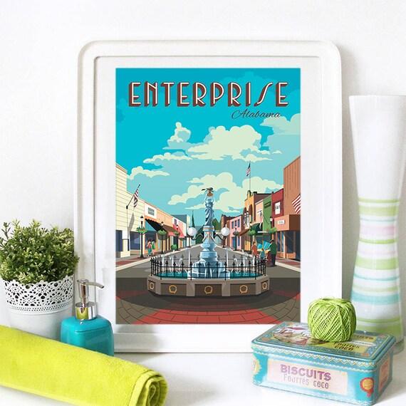 Enterprise Print, Enterprise Skyline, Enterprise Art, Enterprise Poster, Enterprise Watercolor, Enterprise Art, Enterprise Map, Enterprise