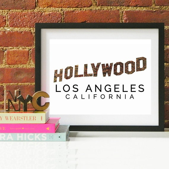 Los Angeles Print, Los Angeles Skyline, Los Angeles Art, Los Angeles Poster, Los Angeles Watercolor, Los Angeles Art Print, Los Angeles Map
