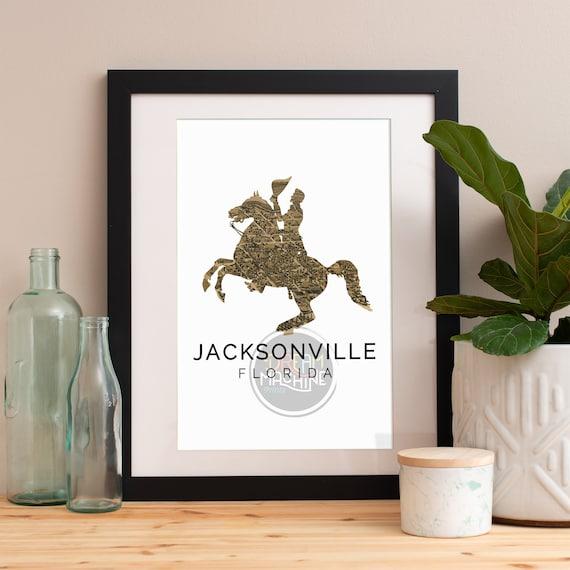 Jacksonville Print, Jacksonville Skyline, Jacksonville Art, Jacksonville Poster, Jacksonville Watercolor, Jacksonville Art Print, Florida