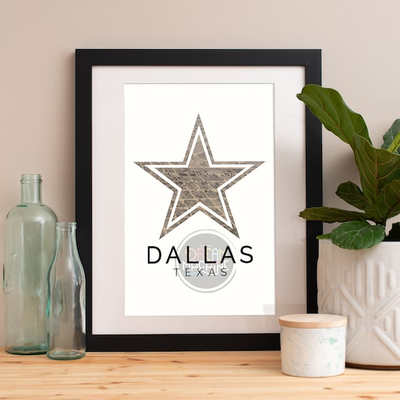 Dallas Print, Dallas Skyline, Dallas Art, Dallas Poster, Dallas Watercolor, Dallas Art Print, Dallas Map, Dallas Wall Art, Texas Art