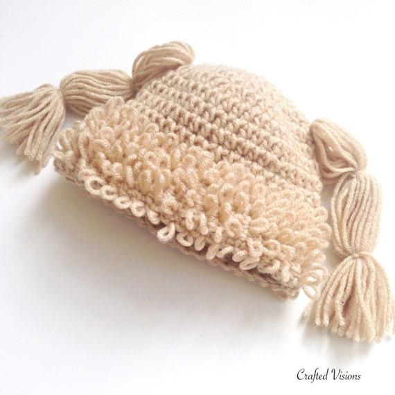 Pattern Crochet Cabbage Patch Hat Pattern All Sizes Etsy