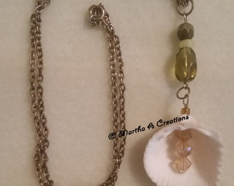 Brass Shell Necklace