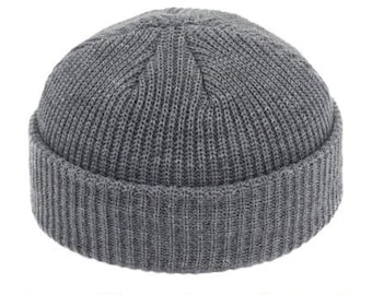 c1c2487e8a5 Stylish Very Nice Trendy New Beanie Skullcap Brimless Street Knitted Unisex  Casual Solid Hat