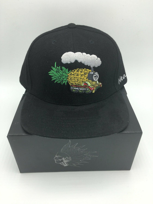 d356cec756d Unique Custom Headies Pineapple Express Marijuana Melton Wool