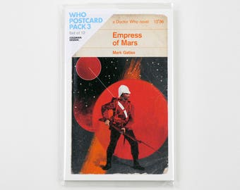 Doctor Who | Penguin-style book covers | Third pack of postcards