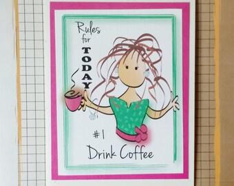Coffee Birthday Card