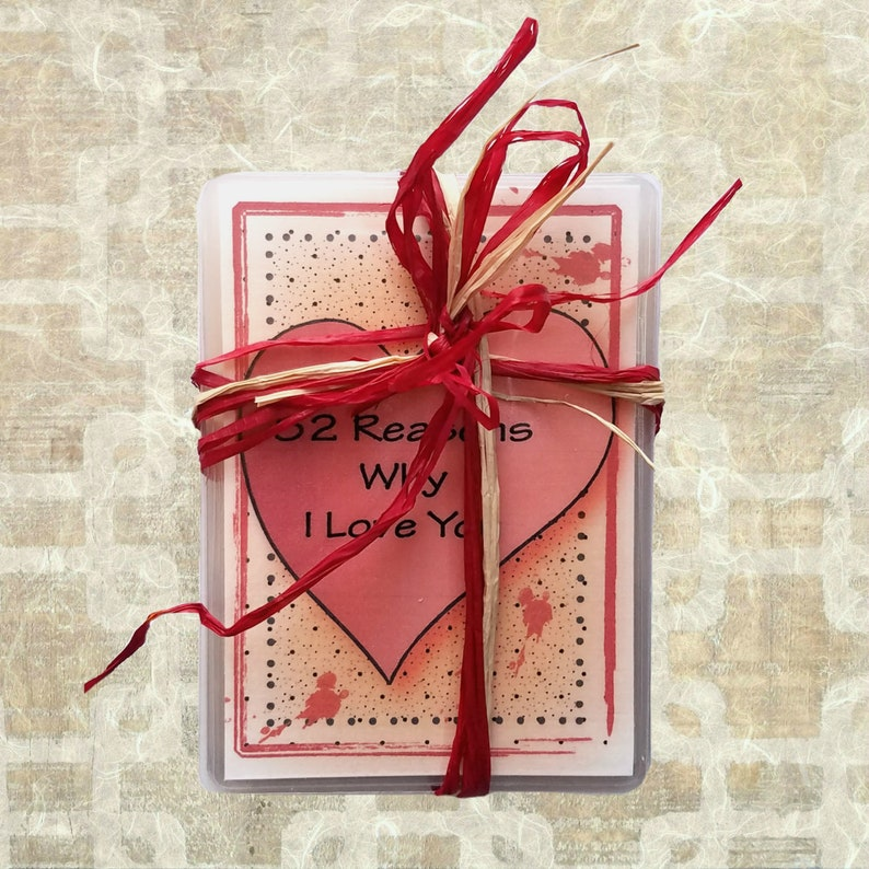 Reasons I Love You Romantic Gift Idea For Her Personalized