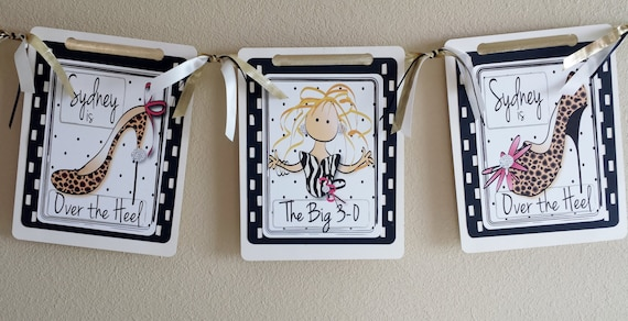 Personalized 30th Birthday Party Decorations