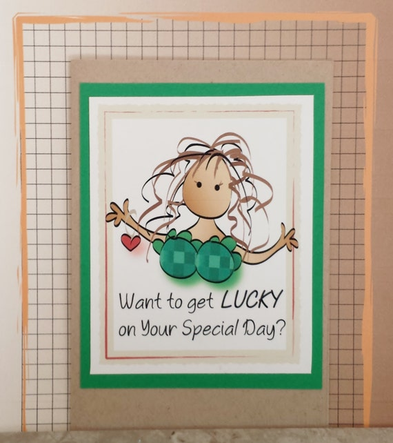 Naughty Suggestive Birthday Card For Him Snarky And Funny Etsy