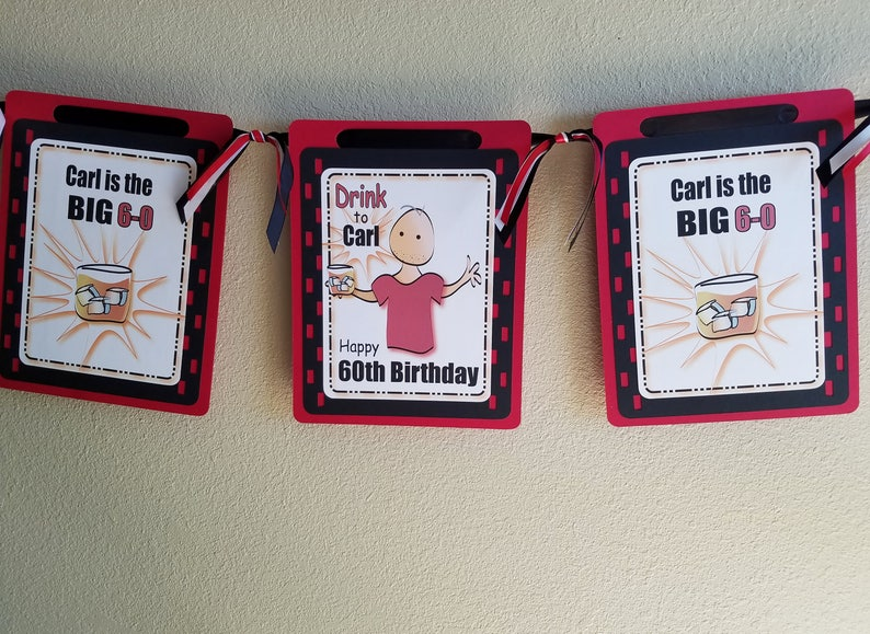 60th Birthday Party Idea For Male Personalized